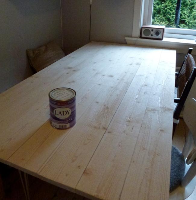 I stua til Liza: DIY- Spisebord