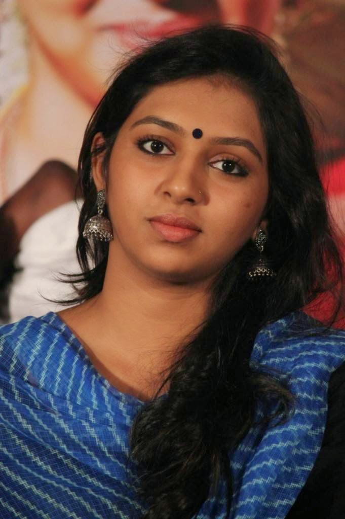 Lakshmi Menon Stills At Komban Movie Sucess Meet