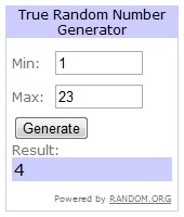 photo of: Number Generator