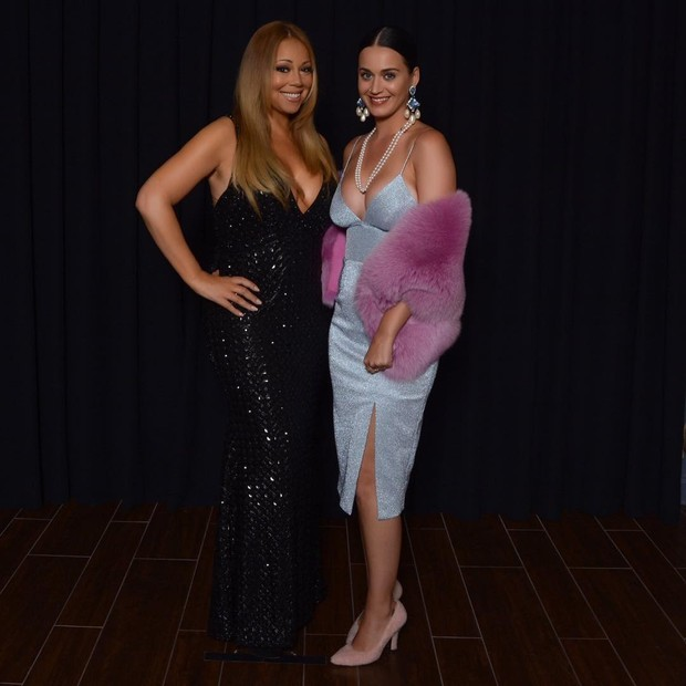 Katy Perry goes to Mariah Carey concert in Las Vegas