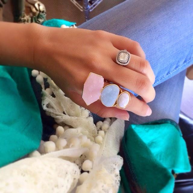 H&M accessories, H&M ring, H&M, H&M fashion, Pom Pom Scarf