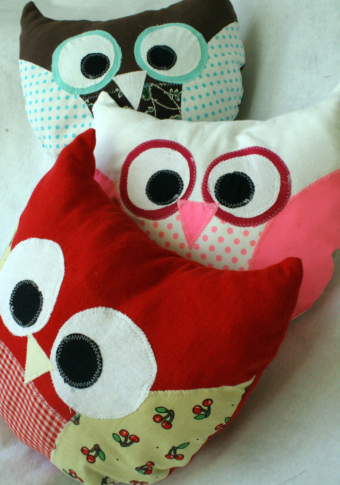 How To Make Cute Owl Pillows : Mrs. Meyer Musings: Owl Pillows