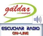 Picar en el logo de Radio Gáldar