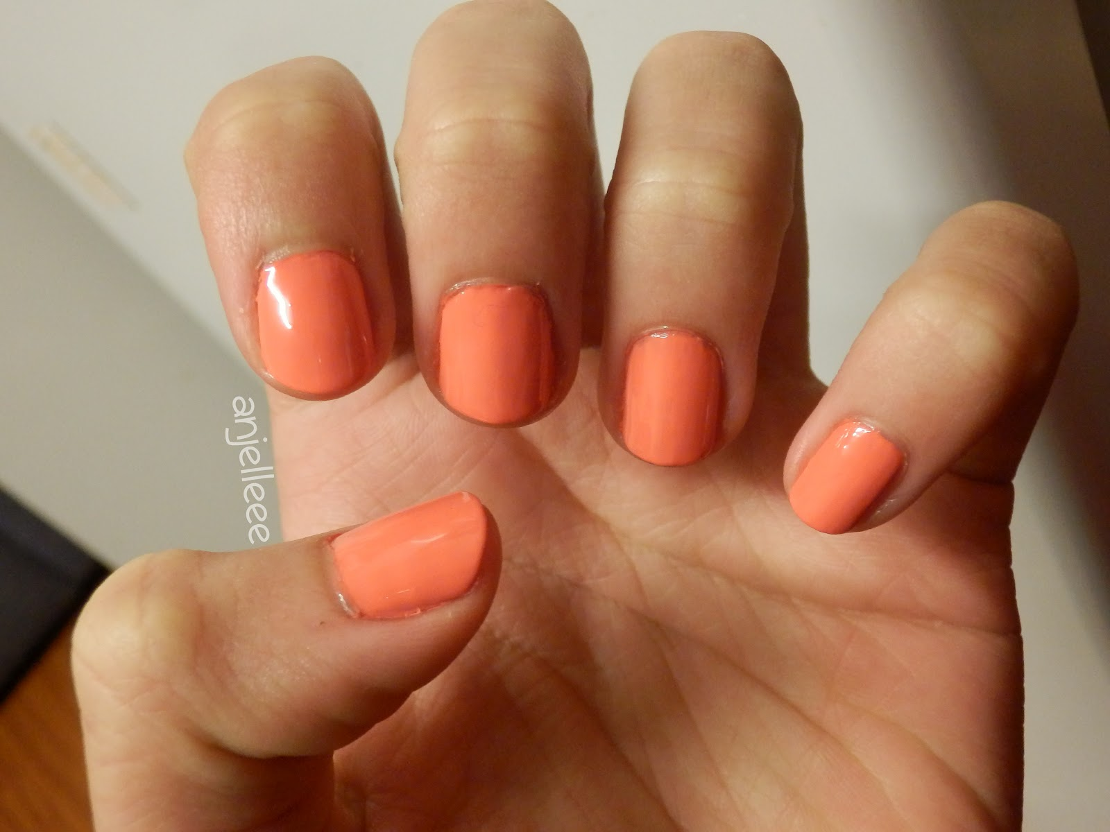 dark orange nail polish - HD 1600×1200