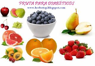 Fruta para diabéticos