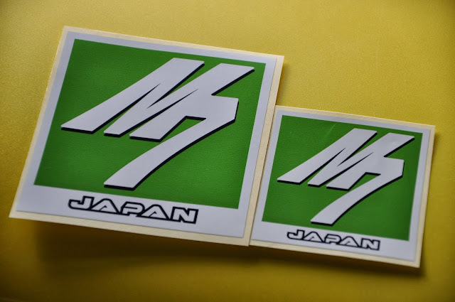 m7 sticker single layer vinyl