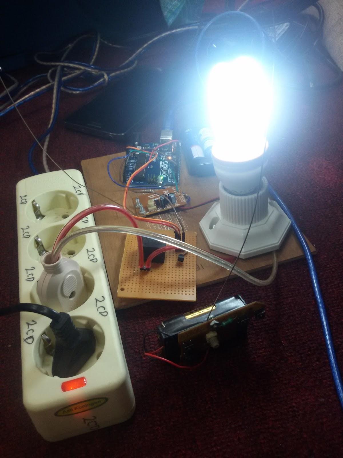 Kendali lampu dengan arduino