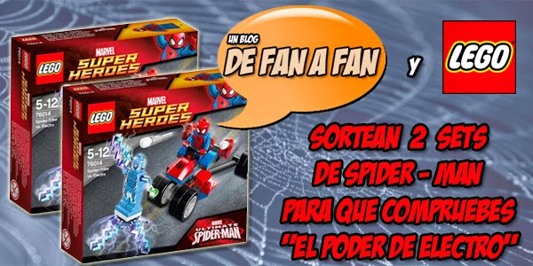 Regalamos dos sets Lego Spider-Man