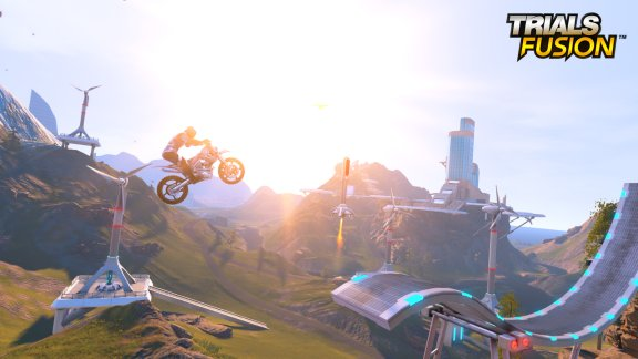 Download Game Trials Fusion (2014) PC Full screenshot