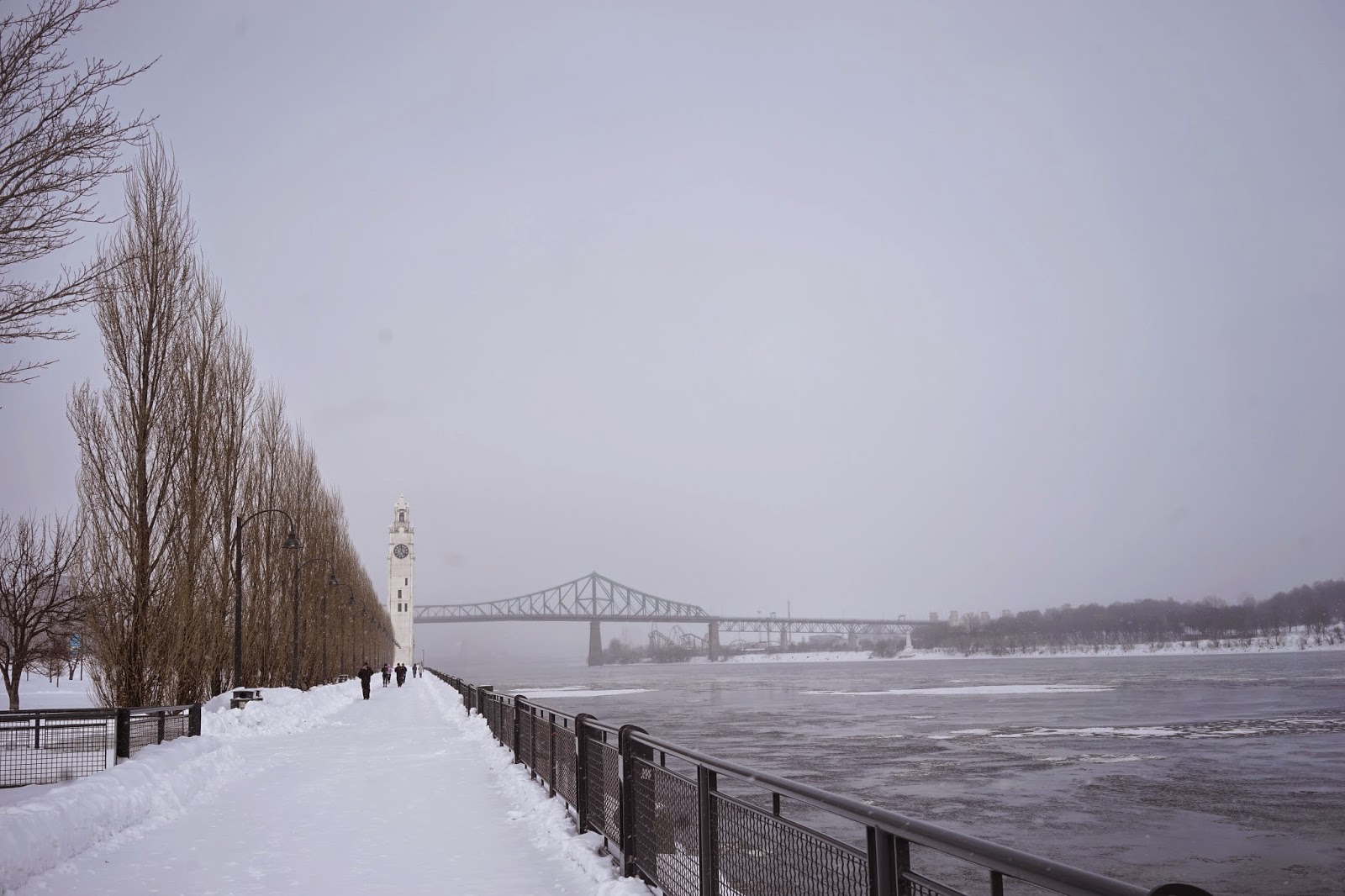 frozen st lawrence river