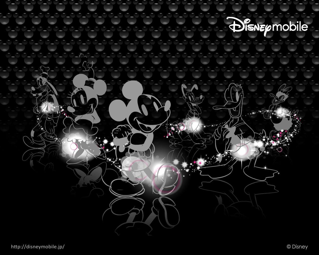 Minnie Mouse Black Shoes
