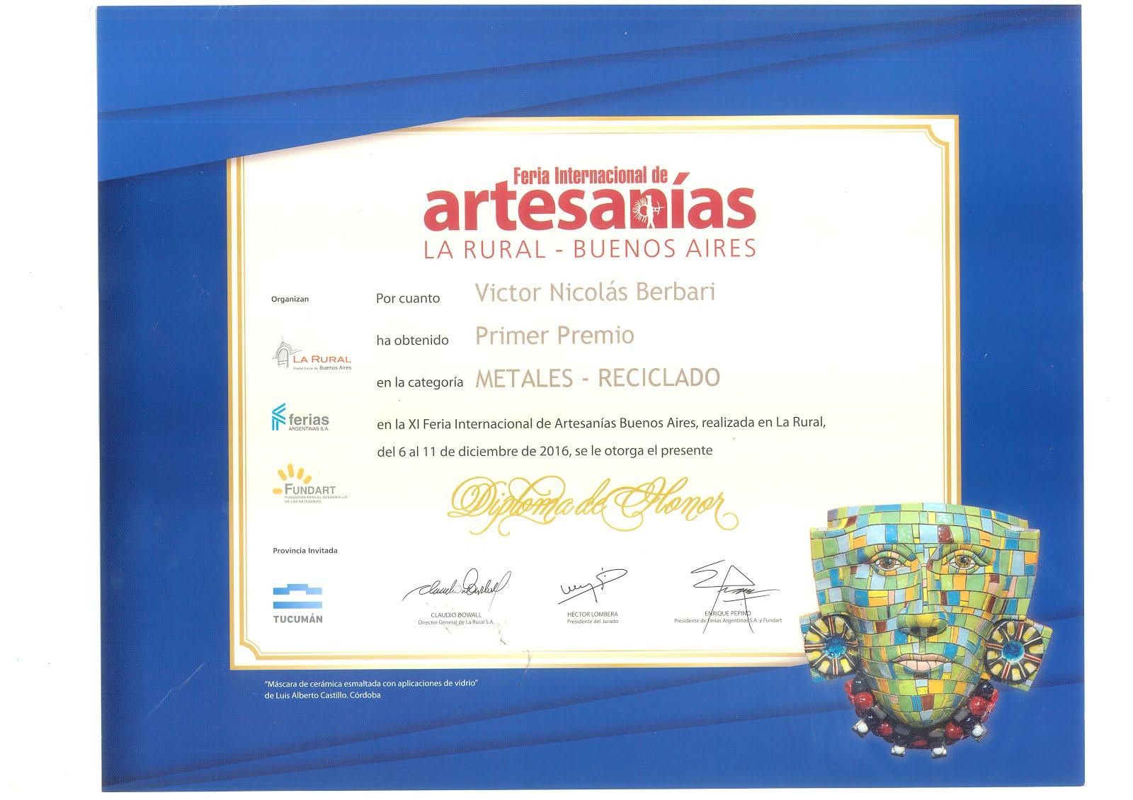 Feria de artesanías LA RURAL 2016