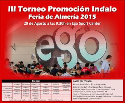 TORNEO DE PROMOCIÓN INDALO
