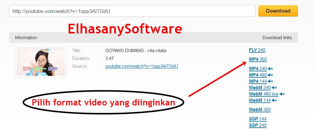 Cara Cepat Download Video Di YouTube Update Terbaru