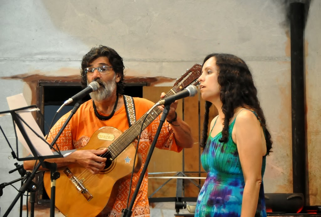 Wagner Tadeu e Maria Eduarda