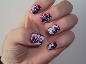 Old but golden Nail-arts.