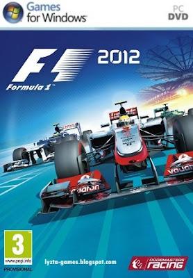 Formula 1 (F1) 2012 PC Cover