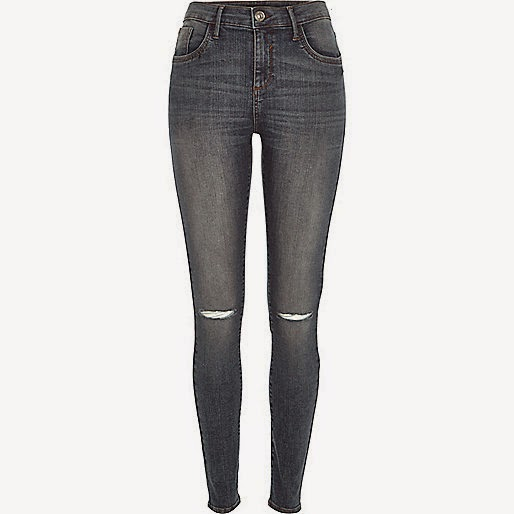 river island ripped knee jeans, river island amelie jeans, river island super skinny jeans,