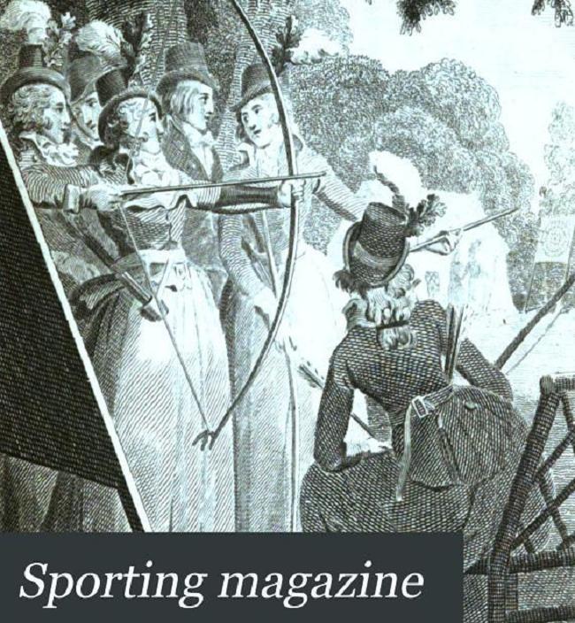 Okładka Sporting Magazine