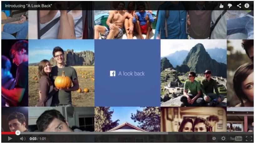 Cómo descargar mi pelicula o video de facebook: Lookback