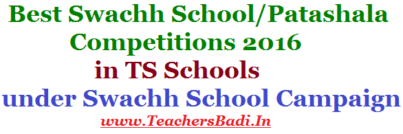 Best Swachh School,Patashala Competitions 2016,District level