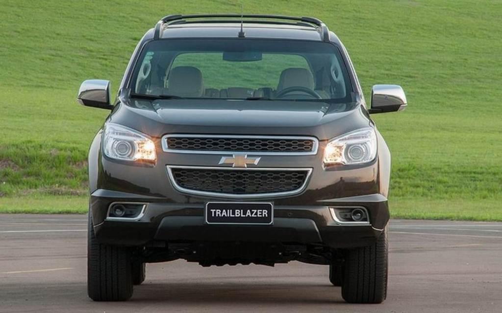 Chevrolet Trailblazer 2013 adota rodas de alumínio de aro 18 de