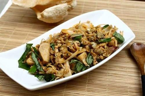 (Mít Xào Hến) - Stir-fried Jack Fruit with Mussel