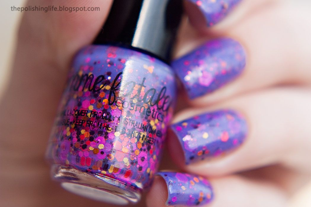 Femme Fatale Sea Pony swatches and review