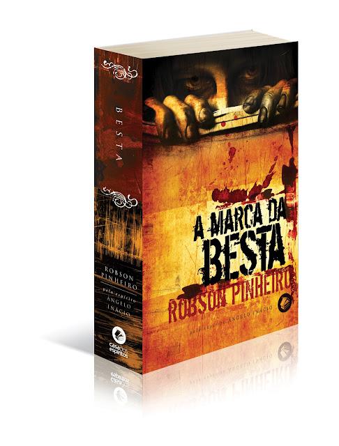 Capa do livro a marca da besta, livro robson pinheiro volume 3
