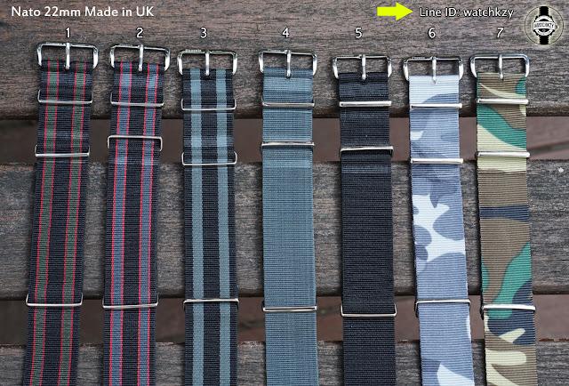 Nato Straps made in UK 22mm