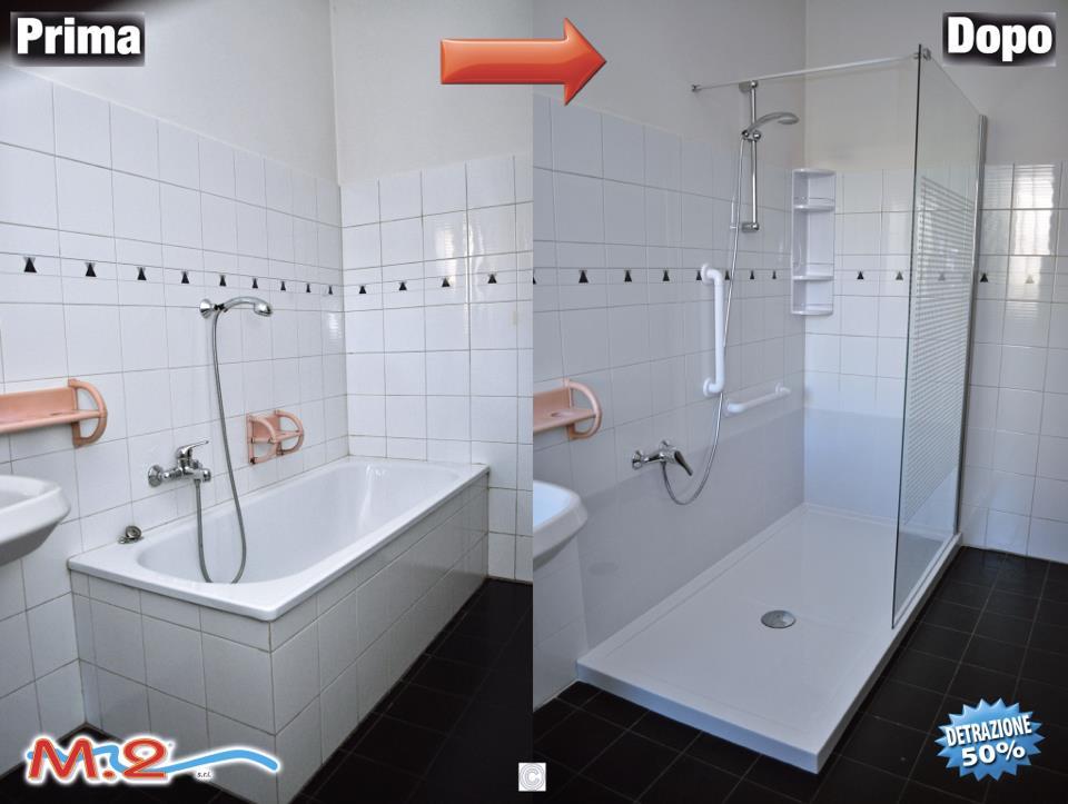 Trasformazione vasca in doccia | M.2 Trasformazione vasca in doccia ...