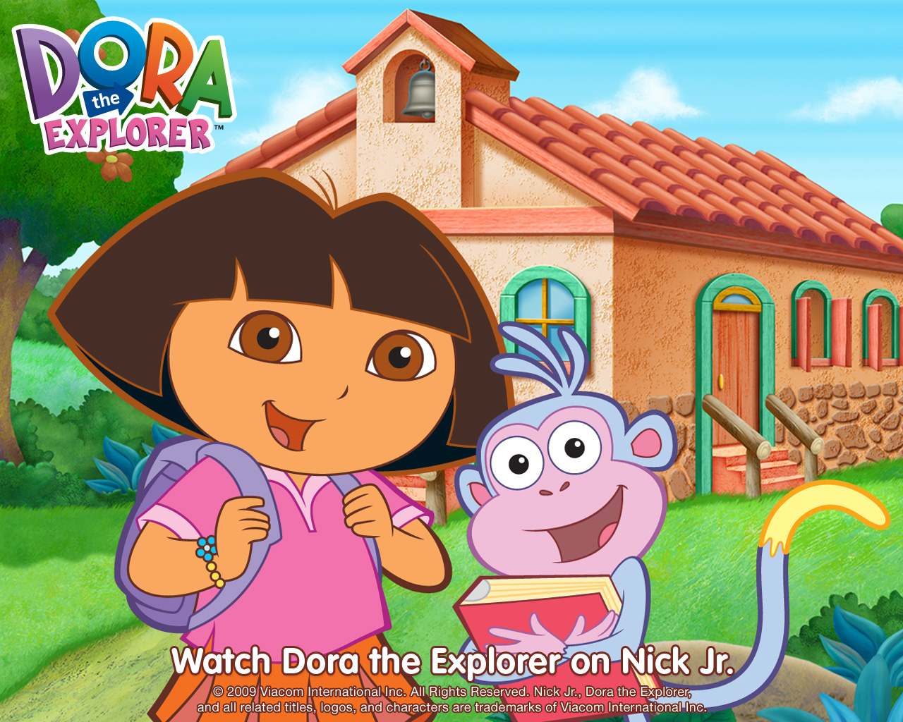 My wallpapers dora the explorer wallpaper my wallpapers voltagebd Image collections
