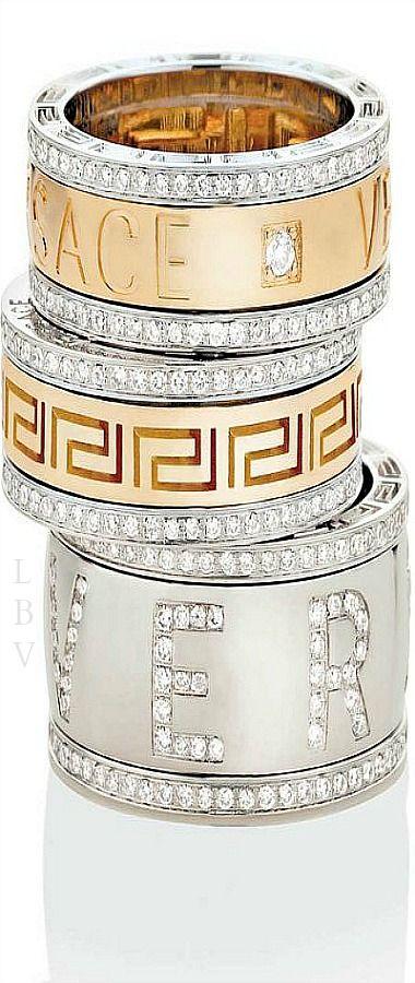 Desejo do dia - Anéis Versace