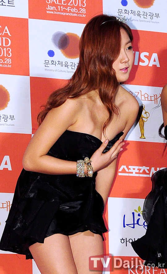 Sistar (씨스타) Soyou (소유) - '22th Seoul Music Awards' ceremony on 31 January 2013 held at Seoul Olympic Park, SK Olympic Handball Arena.