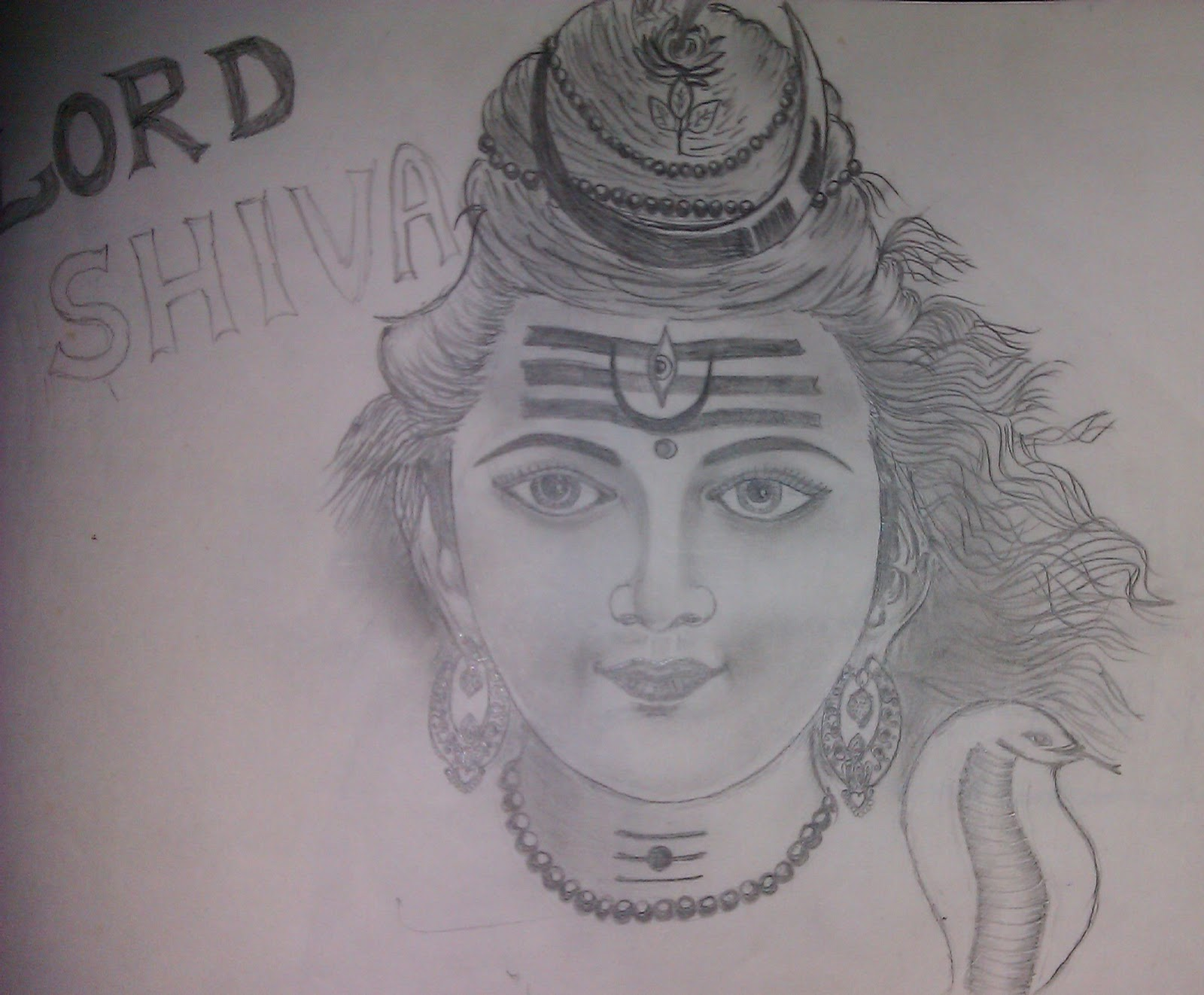 Lord Shiva D Sindhuja Rmc Colorduck