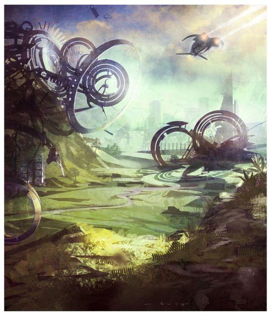 Timo Mimus crackbag deviantart ilustrações fantasia arte conceitual Meio ambiente experimental