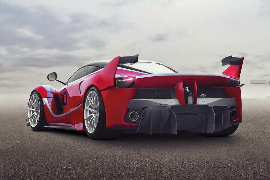 Ferrari FXX K (2015) Rear Side