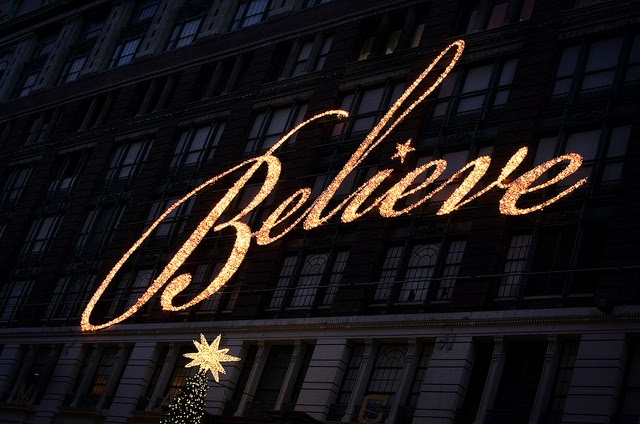 its miracle on 34th street not miracle on 134th street the only miracle on 134th street is that we get to participate at all half the time santa skips