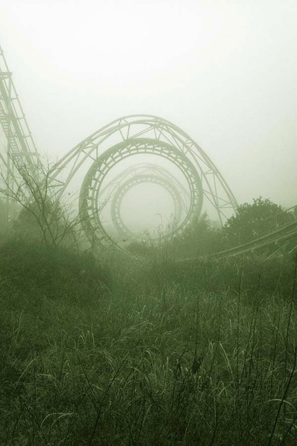 Parque de atracciones abandonado en Japón