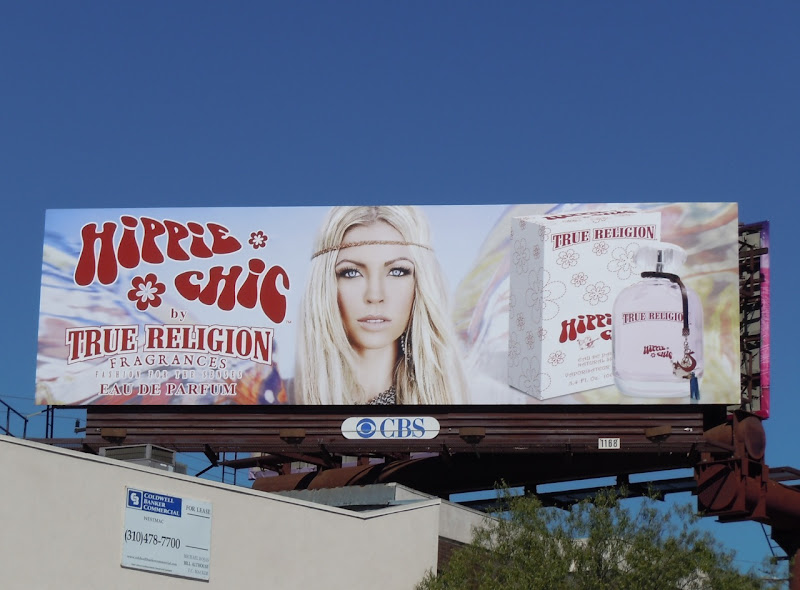 True Religion Hippie Chic billboard