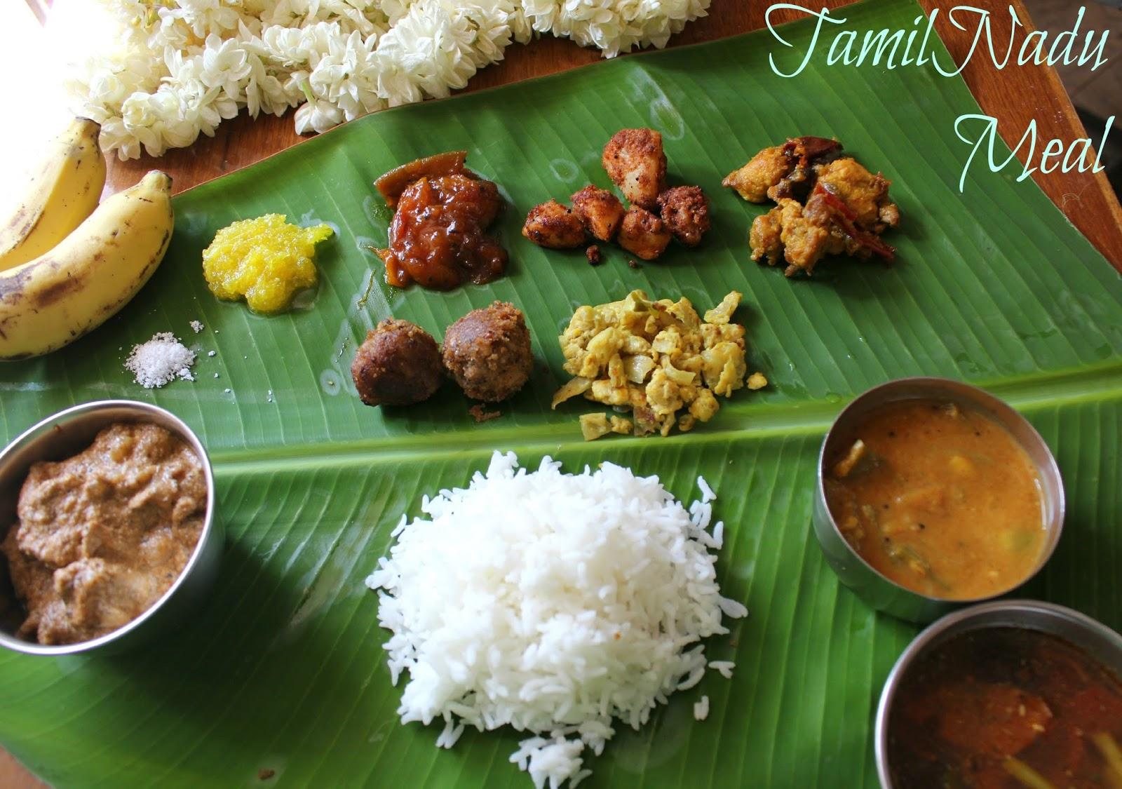 tamilnadu meal