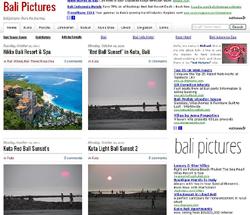 Bali Pictures Wallpaper Blogger Template ~ ALLFREEZZONE