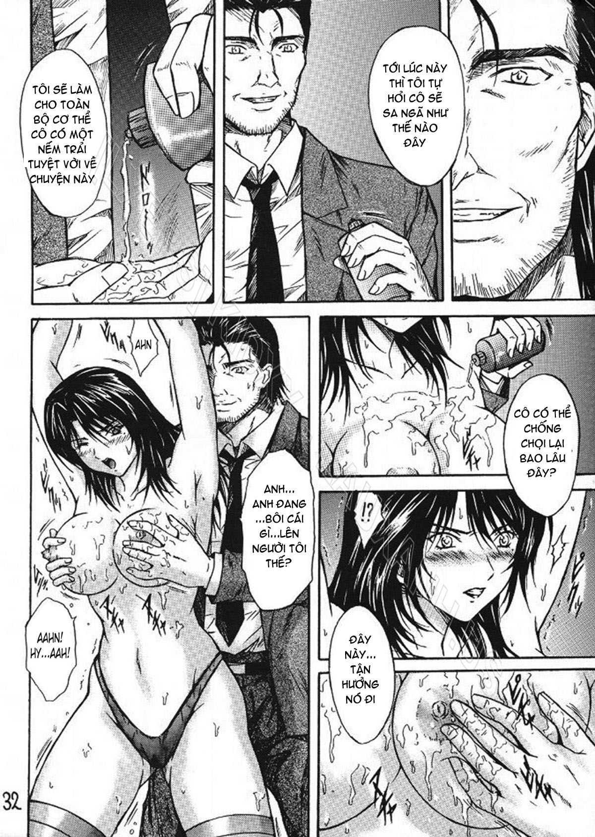 TruyenHay.Com - Ảnh 31 - Ryoujoku Rensa Chapter 2