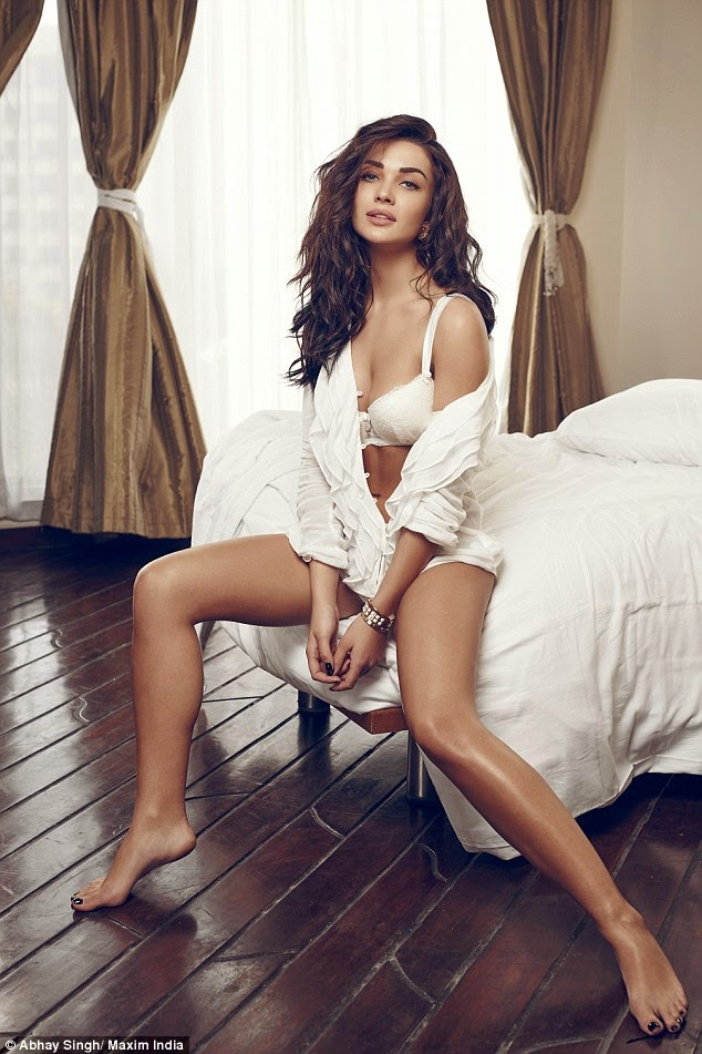 Hot Indian Actress Amy Jackson - Maxim Magazine