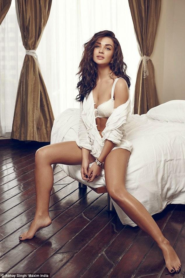 Hot Indian Actress Amy Jackson - Maxim Magazine