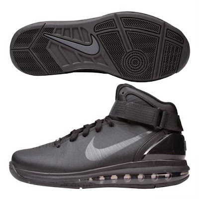 Nike Air Max Hyperdunk 2010 All Black Mens are like rock\u0027n RR Phantoms on  your feet. Sleek black on black on black makes this shoe a loud voice with  few ...