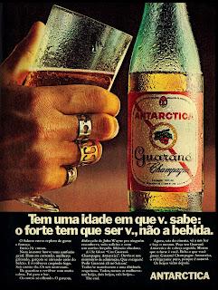 propaganda refrigerante guaraná Antarctica - 1970
