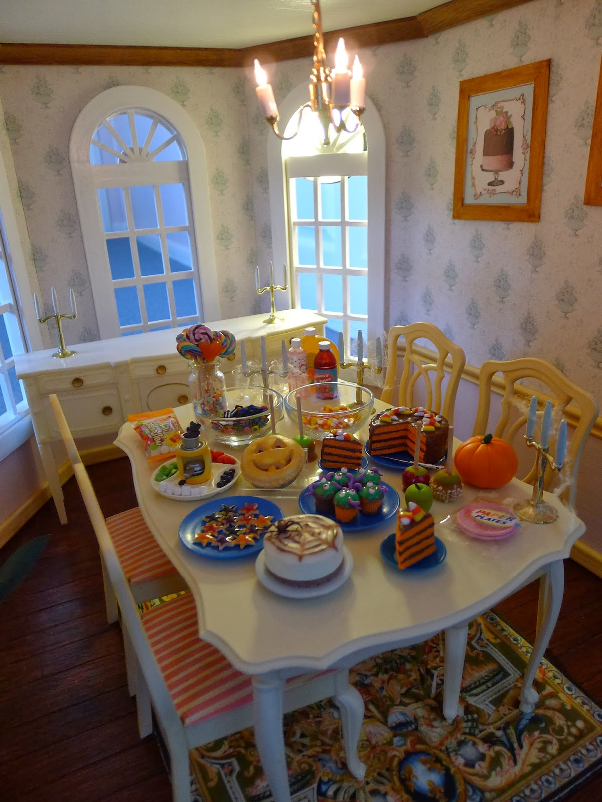 Littlest sweet shop new in halloween specials cheesecake for Hades dining table th8