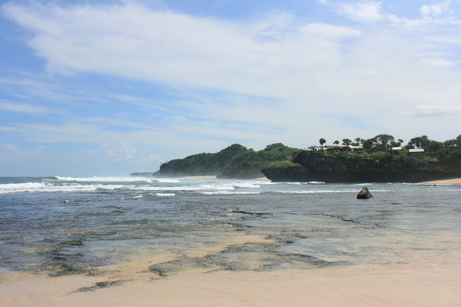 beautiful beach jogja gunung kidul