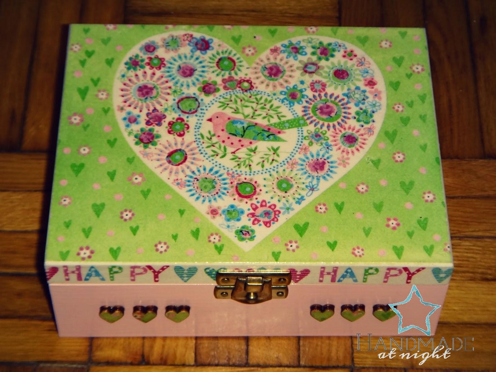 Pudełeczko z sercem, serce, pudełko,